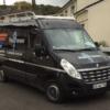 La camionnette noire de la SARL Mon Plombier - Site Internet relooké