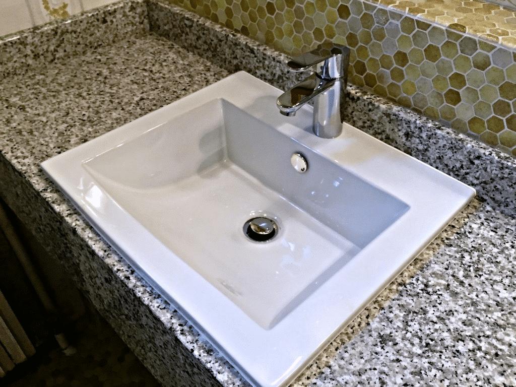 Marly - Une vasque vue de près