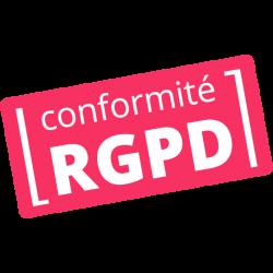 Conformité RGPD - Tampon conforme - Mon Plombier Chauffagiste 57