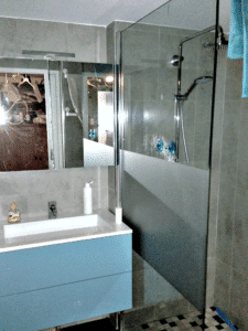Saint Julien les Metz - La nouvelle salle d'eau