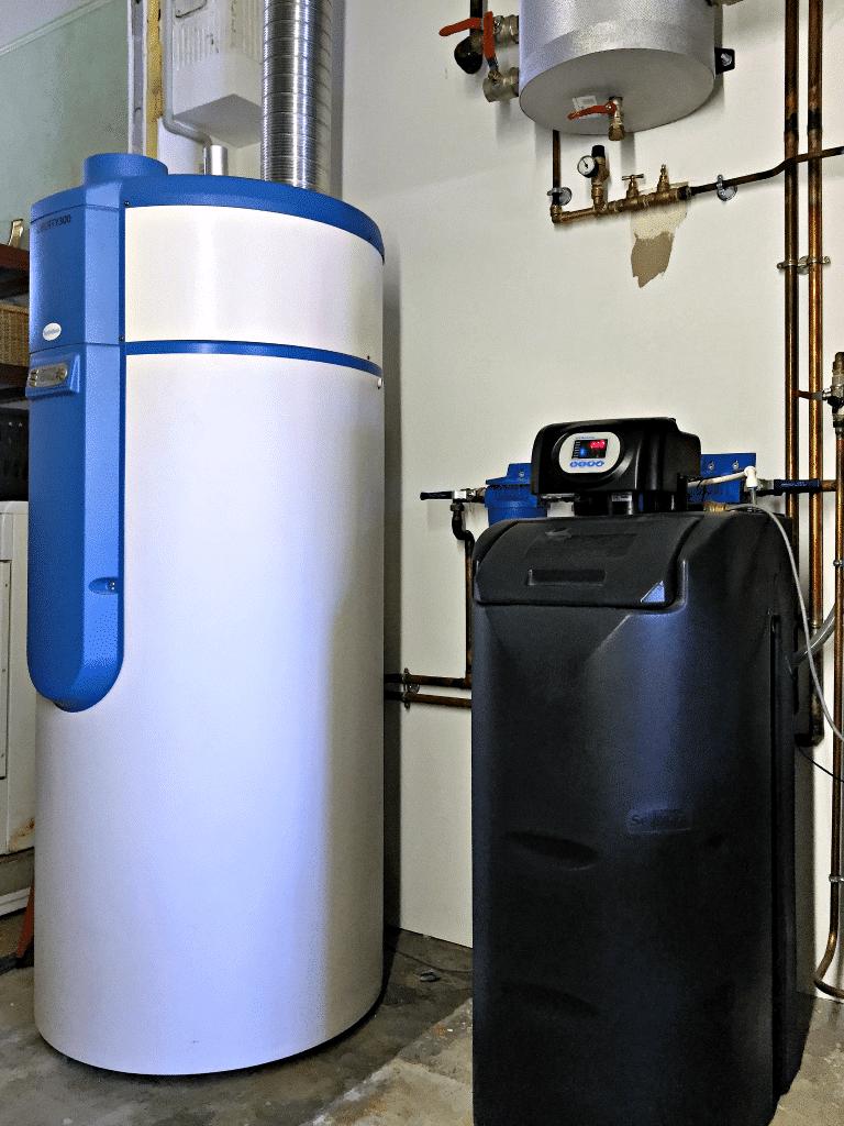 Saulny - Le chauffe-eau thermodynamique et l'adoucisseur d'eau